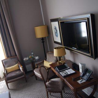 Die Zimmer im Schloss Bensberg.